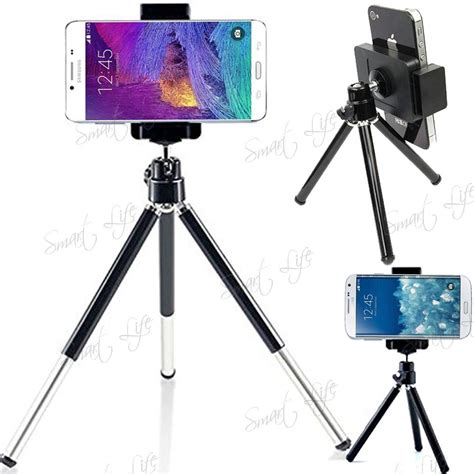 Tripod Holder rotatable mini tripod stand holder for mobile phone iphone samsung sony ebay