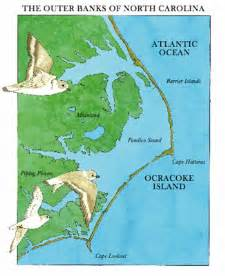 map of the outer banks of carolina