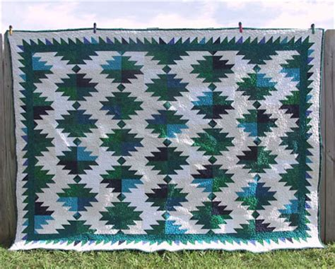 Mountain Top Quilting by Forestjane Designs Delectable Mountains And Kaleidoscopes