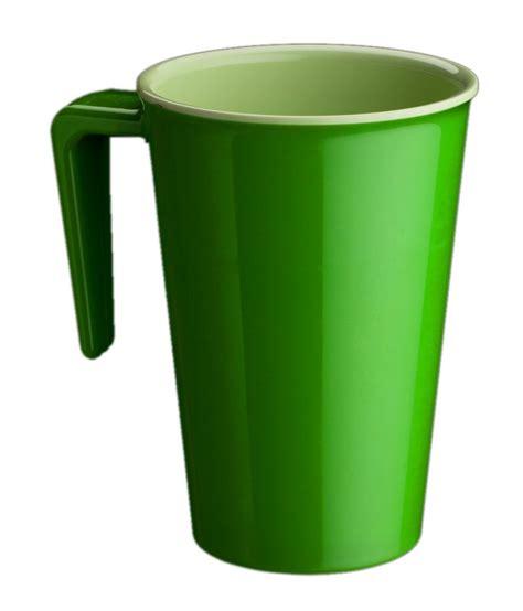 Handle Green Coffee superware green melamine big handle coffee mug set 4