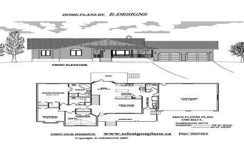 ranch house plans by edesignsplansca 5 simple house small ranch house plans with garage modern ranch house
