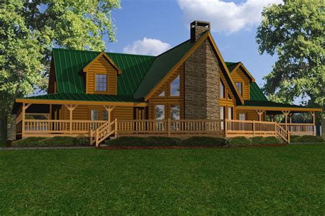 Battle Creek Log Homes by Riverview Battle Creek Log Homes