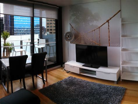 Luxury furnished 1 bedroom apartment sheraton hotel melbourne s central business district
