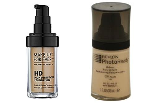 Revlon Hd Foundation pricey makeup cheap dupes q8 mango