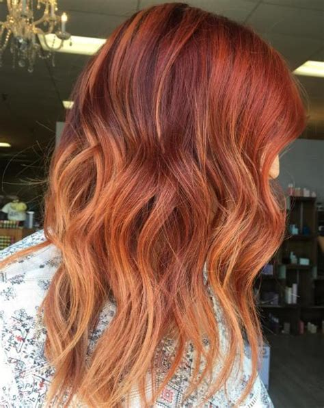 burnt orange color hair 20 burnt orange hair color ideas to try