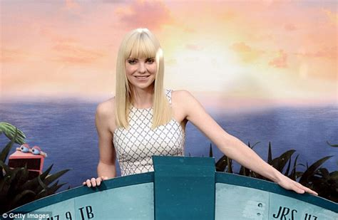 like a boat out of the blue anna faris attends photo call for new movie cloudy with a