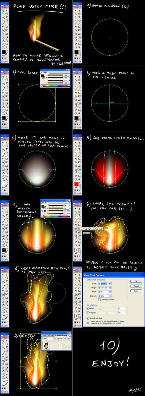 tutorial vector flame vector flames tutorial by hellron on deviantart