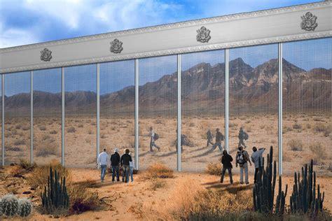 Pensmore Mansion Floor Plan by Companies Release Trump Border Wall Design Concepts 187 Alex