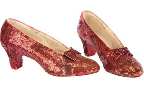 ruby slippers auction price dorothys ruby slippers from the wizard of oz go to
