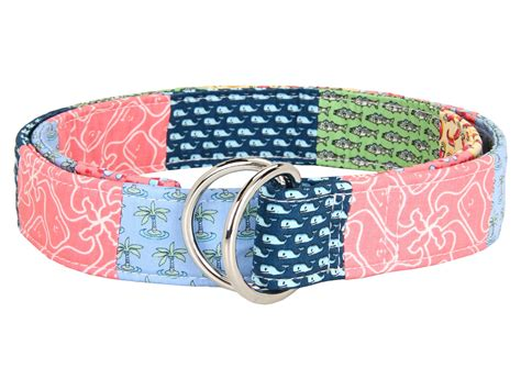 Vineyard Vines Patchwork Belt - vineyard vines patchwork d ring belt shipped free at zappos