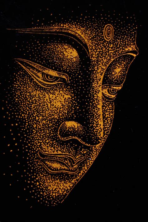 buddha painting by dinushi liyanage