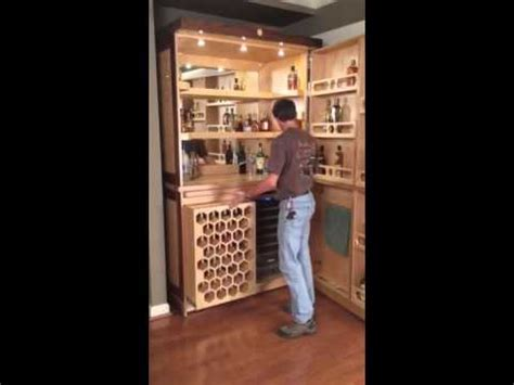 how to build a liquor cabinet custom walnut and birdseye maple liquor cabinet