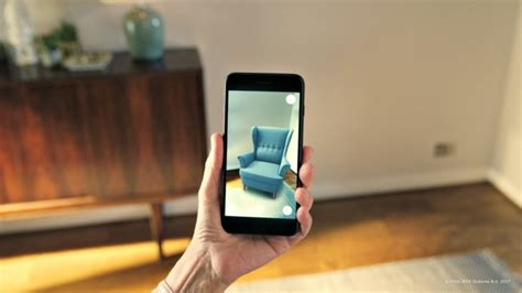 Armchairs With Footstools Ikea S New Augmented Reality App Could Totally Change The