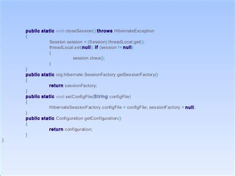java tutorial threadlocal java hibernate programming with architecture diagram and
