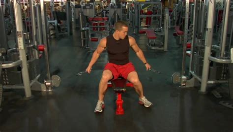 flat bench cable fly how to do flat bench cable flys youtube