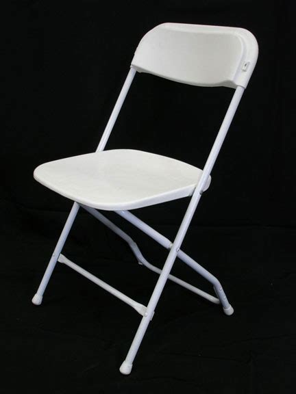 rent folding chairs folding chair basic white uptown rentals
