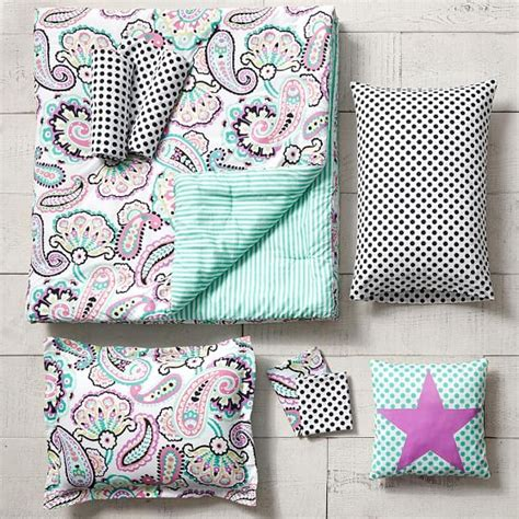 C F Bright Paisley Quilt Collection by Rockin Paisley Bedding Set Pbteen