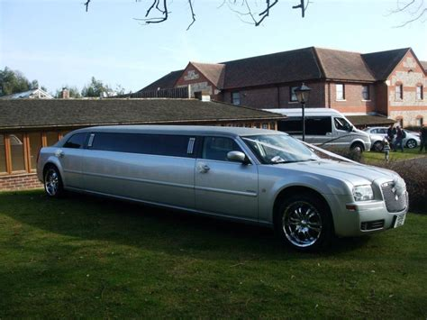Wedding Limousine by Silver Limousine Limousine For Weddings In Chichester