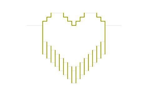Popular DIY Crafts Blog: How to Make a Pixel Heart Pop up Card