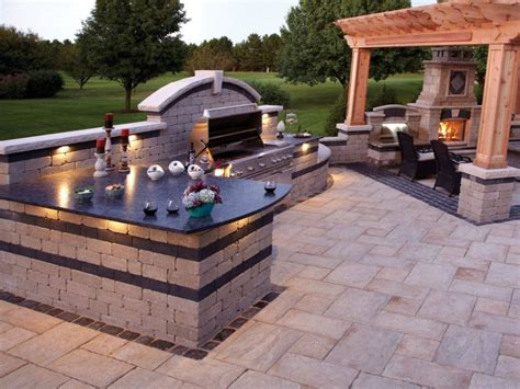 bbq pit backyard marx construction remodeling tips and ideas in rogers ar