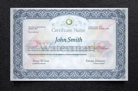 free certificate template by pixeden on deviantart