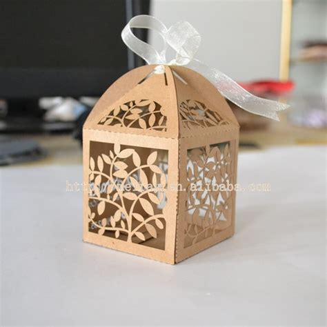 laser cut wedding gift boxes wedding souvenirs gift bag
