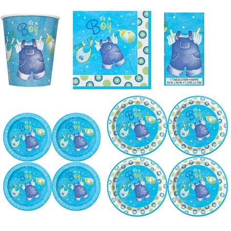 Baby Shower Tableware by Baby Shower Boys Tableware Supplies Boy Napkins