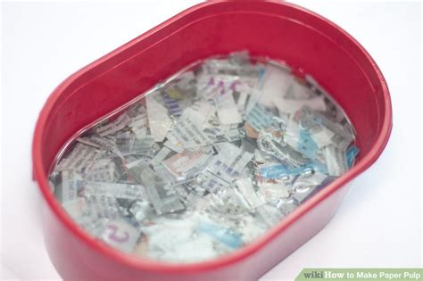 How To Make Paper From Pulp - 4 ways to make paper pulp wikihow