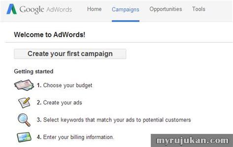 biaya membuat iklan di facebook panduan cara buat iklan di google adwords myrujukan