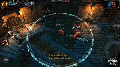 moba for android the witcher battle arena moba enters closed beta photos