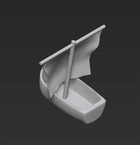 toy boat obj obj boat toy