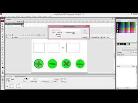 tutorial membuat kuis dengan adobe flash tutorial membuat kalkulator dengan adobe flash youtube