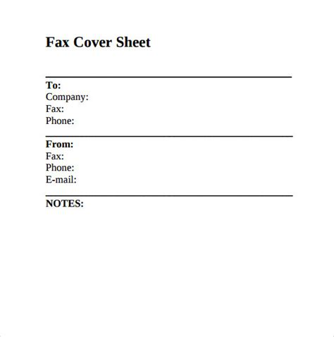 fax cover sheet sle fax cover sheet 8 documents in pdf word