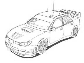 Subaru Drawing Car Outlines Cliparts Co