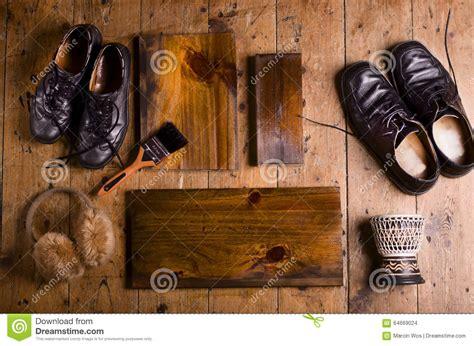 old shoes on the floor vintage beauty fashion photos old shoes on vintage planks royalty free stock image
