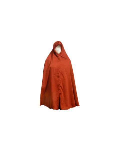 Big Khimar Is big khimar headscarf in brown style