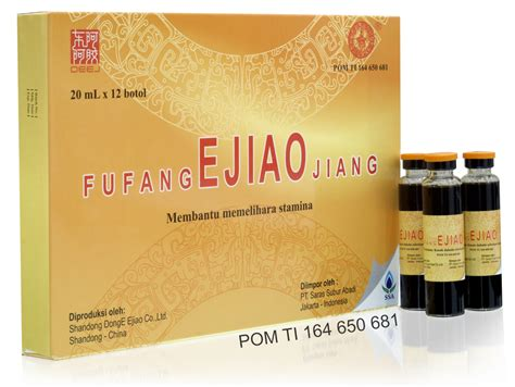 Obat Fufang fufang ejiao jiang