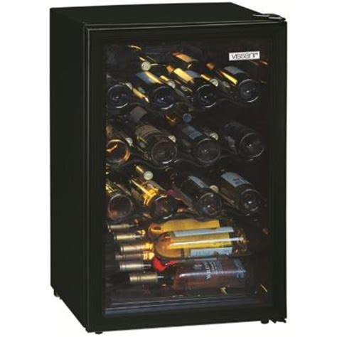 vissani 52 bottle wine cooler mvwc52b the home depot
