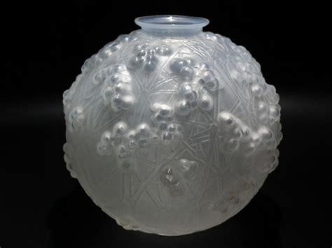 the opalescent books ren 232 lalique opalescent glass druide vase