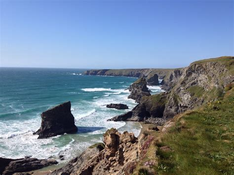 Places To Visit In Cornwall Porthtowan Beach Cottages