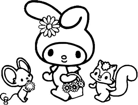 be my coloring pages coloring pages my melody coloring pages