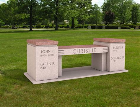 cremation memorial benches cremation memorial bench urn for the christie family