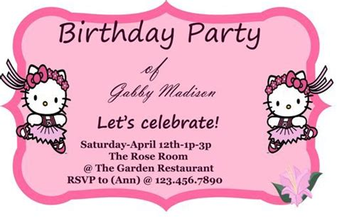 100 free birthday invitation templates you will