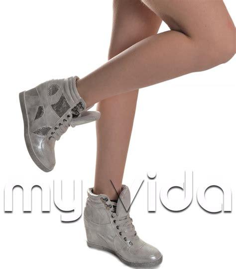 sneakers alte con zeppa interna sneakers alte con zeppa interna my vida