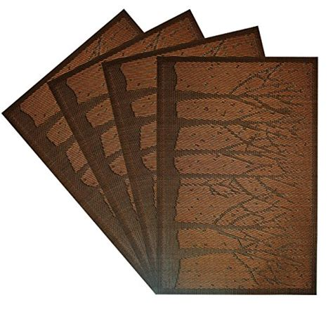rectangle pvc dining room placemats place mats for table kitchen pvc placemats dining room heat insulation stain