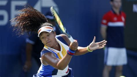 Find To Play Tennis With Osaka I Find It Easier To Play The Bigger Players