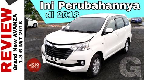 Toyota New Avanza 1 3 G Manual mobil sejuta umat toyota grand new avanza 1 3 g manual