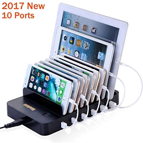 build a charging station charging station roukos 10 ports usb dock with build in