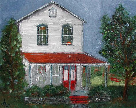 house portrait artist image gallery old farm houses paintings