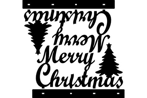 christmas dxf free stand merry decoration dxf file free 3axis co
